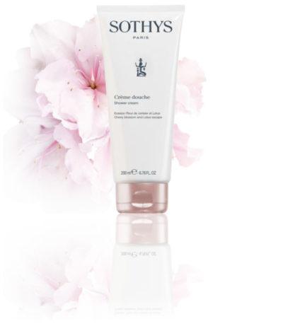Sothys - Corps - Evasion - Hanakasumi - Crème Douche Evasion Fleur de Cerisier et Lotus
