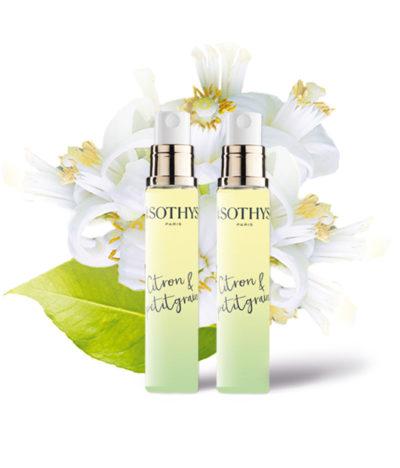 Sothys - Corps - Evasion - Eau parfumée citron petitgrain